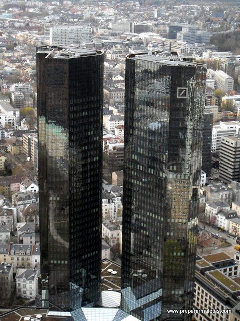rascacielos en Frankfurt