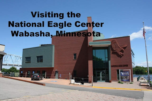 The National Eagle Center building in Wabasha, Minnesota
