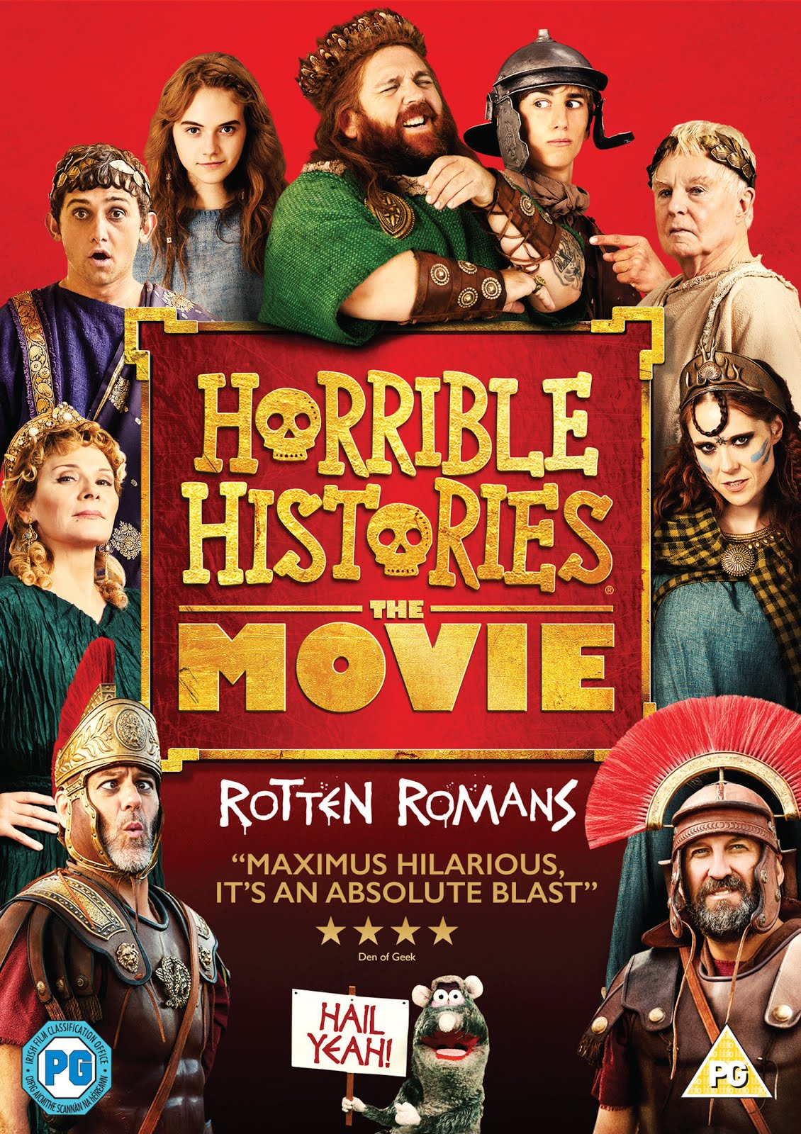 Horrible Histories The Movie Rotten Romans (2019) 250MB WEB-DL 480p