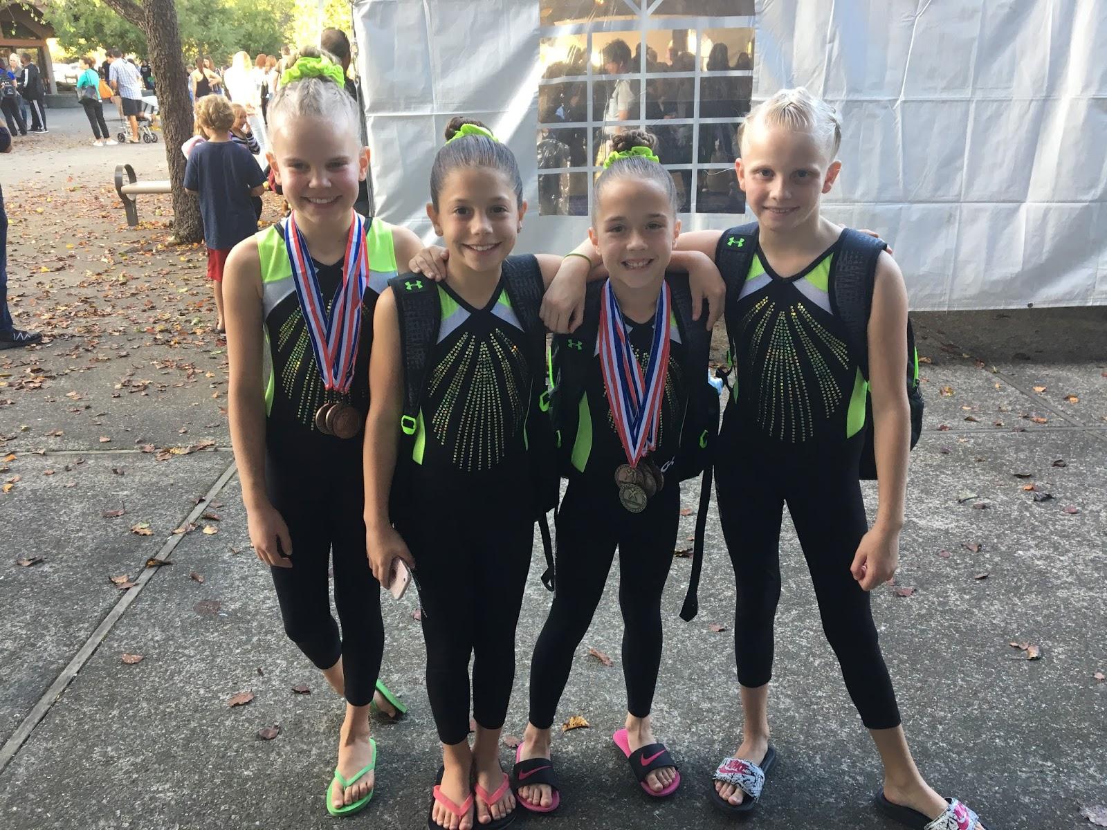 Winwin gymnastics - Napa Gymnast Brings Home State Championship