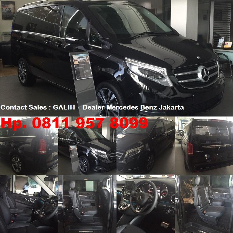 2016 Mercedes Benz Gle Head Gasket: NEW MERCEDES BENZ V CLASS INDONESIA,NEW V220 D DIESEL 2016
