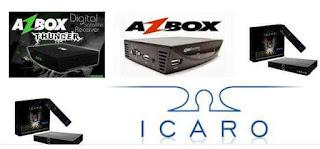 AZBOX NOVA ATUALIZAÇÃO MODIFICADA THUNDER-EM-ICARO