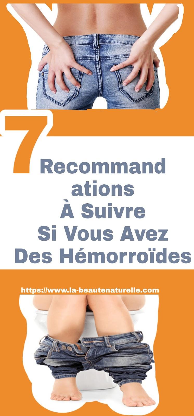 7 Recommandations À Suivre Si Vous Avez Des Hémorroïdes