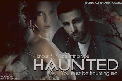 Capa de Fanfic - Haunted (Natasha Rodgers)