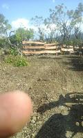 Lewati Lahan Warga, Jalan Usaha Tani Program Desa Mandala Diblokir