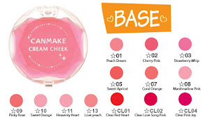 Canmake Cream Cheek Love Peach 2