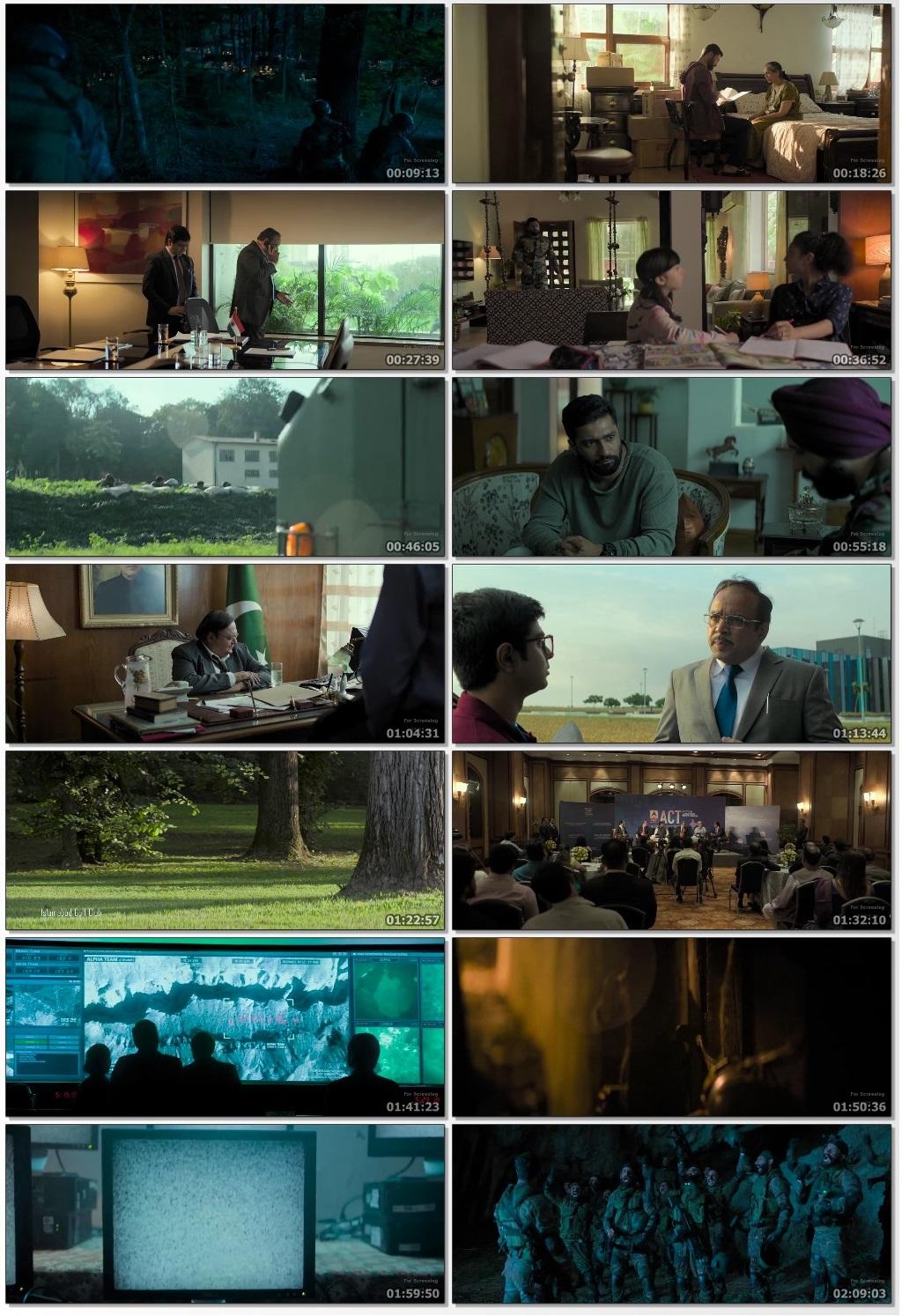 New Hindi Movei 2018 2019 Bolliwood: URI: The Surgical Strike (2019) Hindi 720p HDRip X264 1