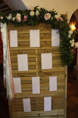 Tischplan, Hochzeitsmotto aus M wird M, Pastell und Vintage im Riessersee Hotel Garmisch-Partenkirchen, Bayern