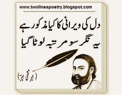 Lines Poetry Mir Taqi Mir (page 5) - Pics about space