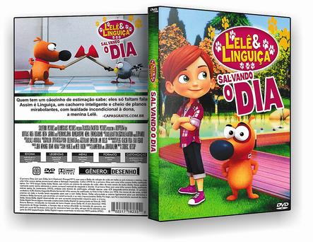 CAPA DVD – Lelê E Linguiça Salvando O Dia – ISO