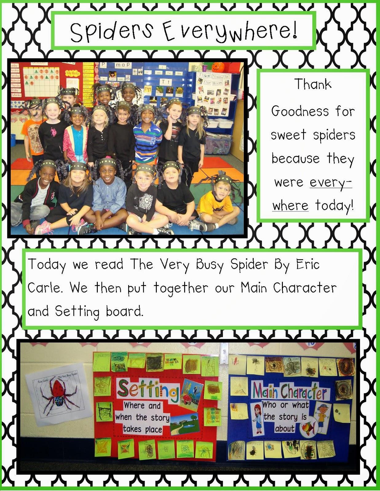 Golden Gang Kindergarten Spiders Everywhere