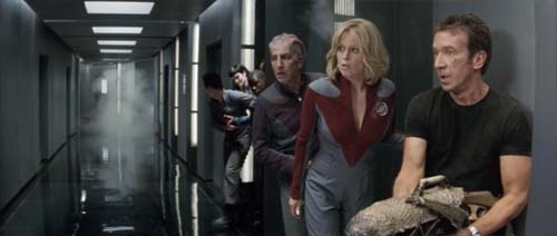 Alan Rickman, Sigourney Weaver, Tim Allen in Galaxy Quest