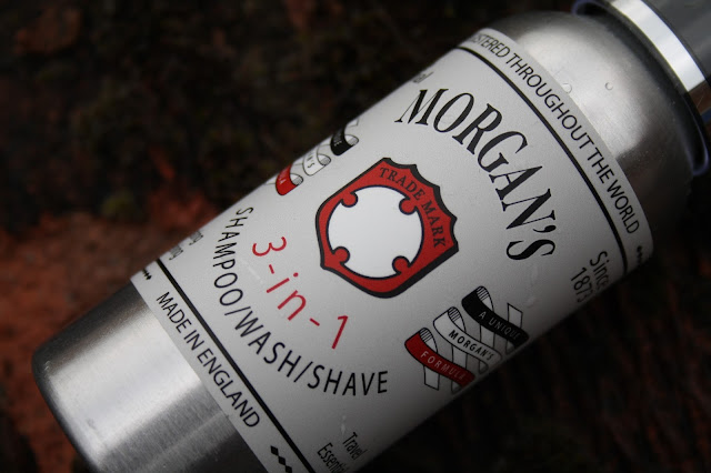 Morgan's 3-in-1 Shampoo/Wash/Shave