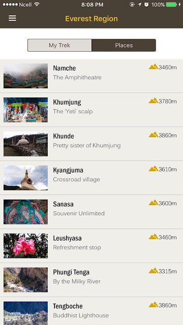 HoneyGuide Mobile App Trekking in Nepal