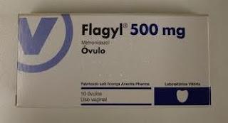 Flagyl 500 mg Óvulo, 10 unidades.
