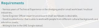 Recrutment port engineer in UAE