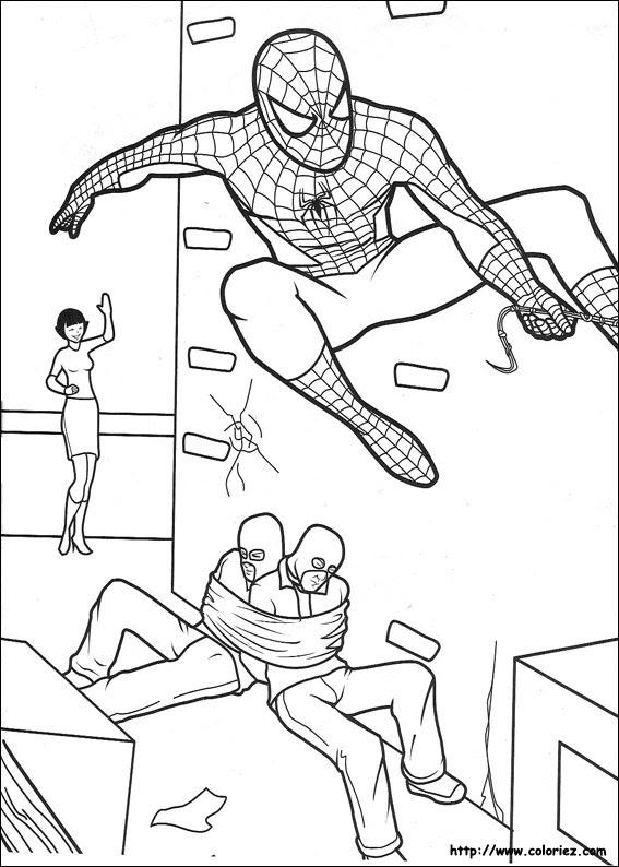 Imprimir Desenhos Do Homem Aranha