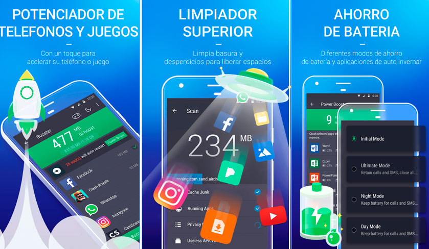 optimizador de juegos android