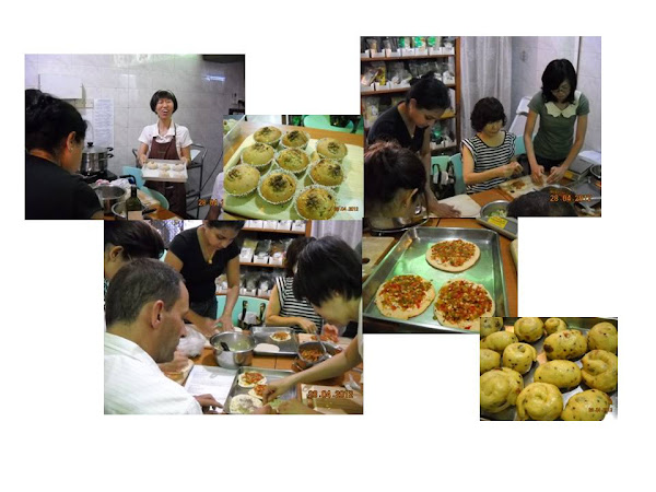 Baking Class @ NutriHub on 28 Apr 2012