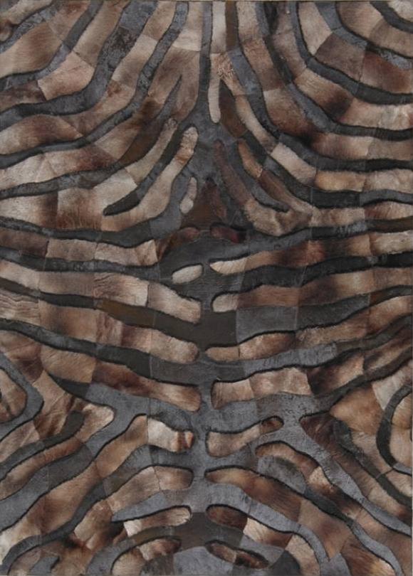 karpet motif kulit zebra