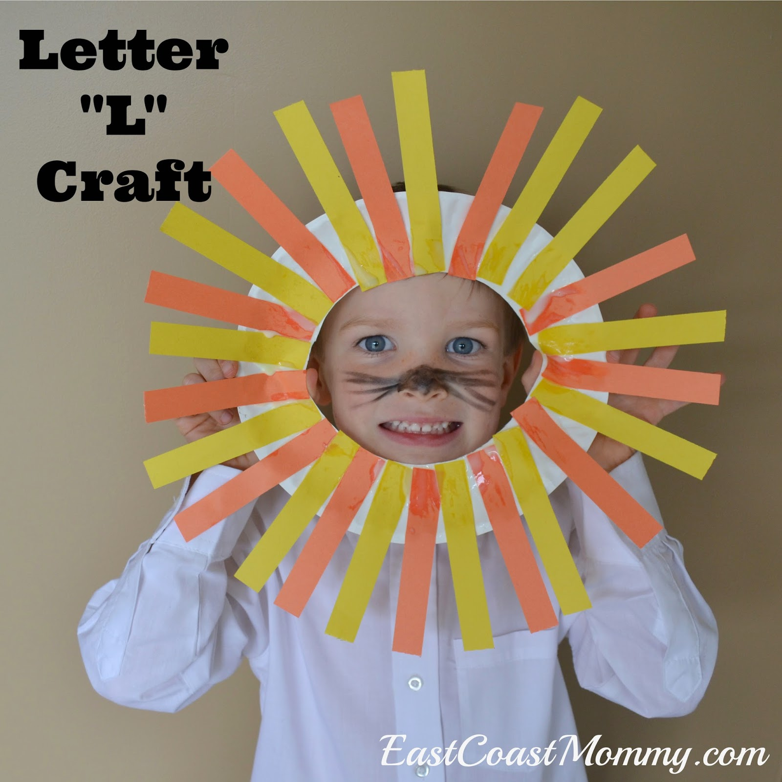 East coast mommy alphabet crafts letter l for Arts and craft letters