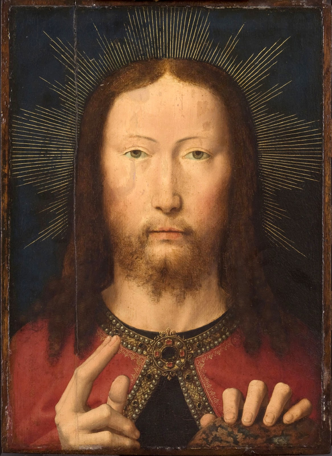 Image result for Holy Face by gerard david
