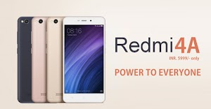 Updated Link to Buy Xiaomi Redmi 4A, Specifications, Photos, Release Date, Hands-on: Buy it Here at 5999INR