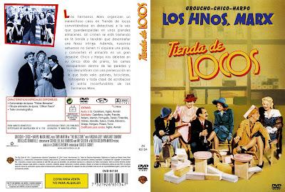 Carátula - Tienda de Locos - Los Hermanos Marx
