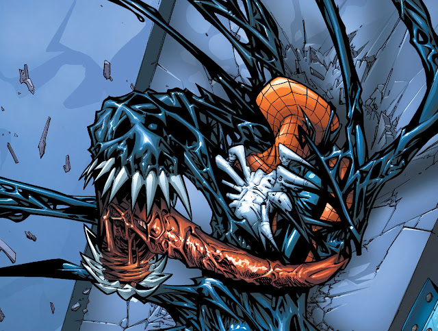 spiderman venom comic