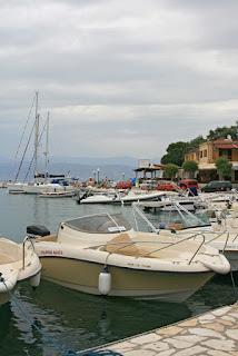 Harbor. Kassiopi. Corfu. Гавань. Кассиопи. Корфу.