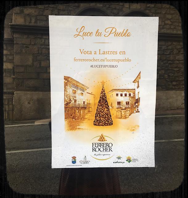 Cartel Luce Tu Pueblo - Lastres