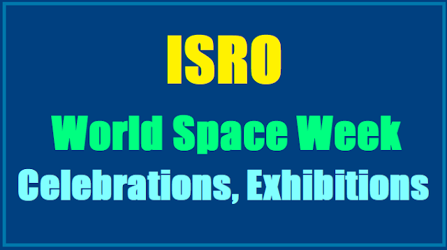 ISRO World Space Week Celebrations, Exhibitions