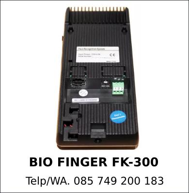 Juragan Mesin Absensi Bio Finger FK-300