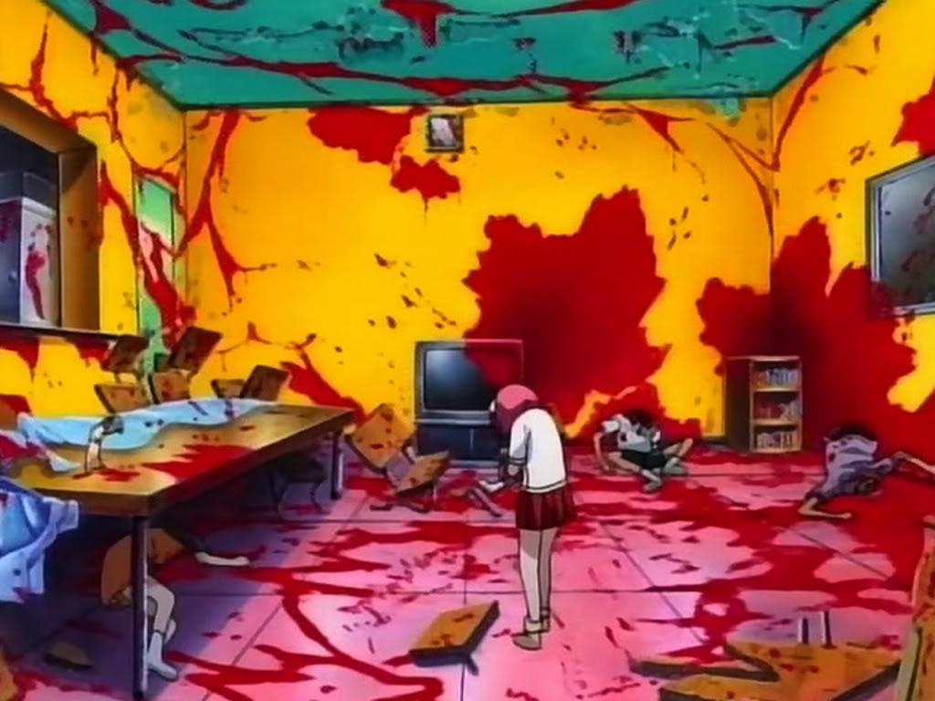 Animes com mortes brutais
