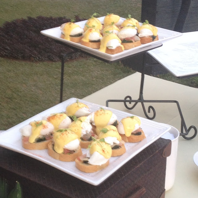 Eggs Benedict at Birdseed Breakfast Club