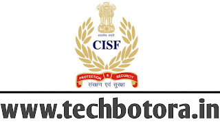 Central Industrial Security Force (CISF)recently released an official notification regarding 429 posts recruitment of Head Constable (HC). Online application from all eligible & intended candidates are asked. More details regarding this recruitment is below provided. For More Details www.techbotora.in