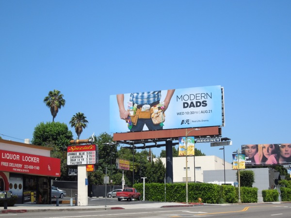 Modern Dads A&E billboard