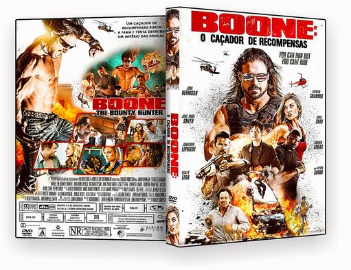 CAPA DVD – Boone O Caçador De Recompensas DVD-R