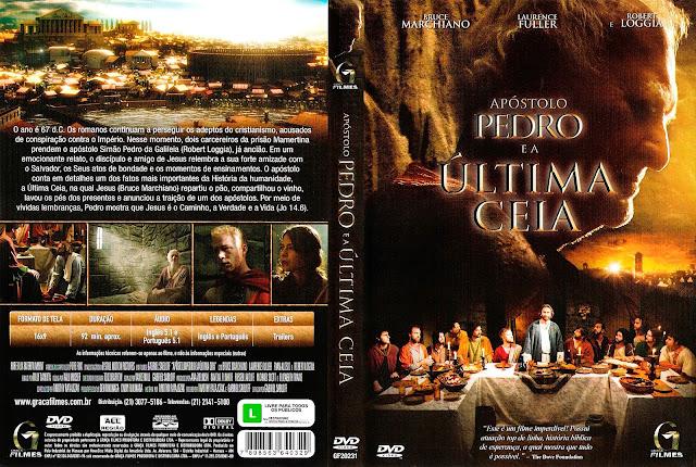 Capa DVD Apóstolo Pedro e a Última Ceia