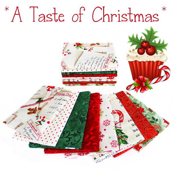 Fort Worth Fabric Studio: Friday Bundle Batch {A Taste of Christmas}
