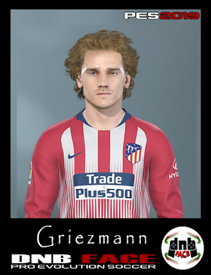 PES 2019 Faces Antoine Griezmann by DNB