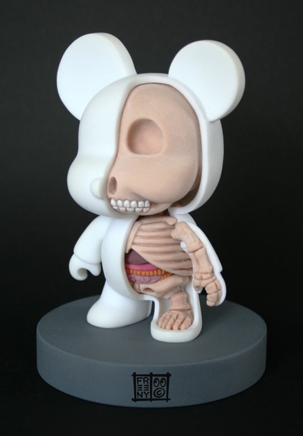 Jason Freeny S Dissected Toys And Icons From Hello Kitty