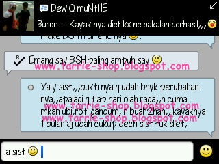 Testimoni Body Slim Herbal BSH Pelangsing