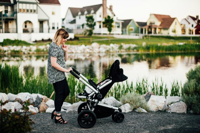 Read how a Quinny baby stroller compares with Michelle's old strollers.