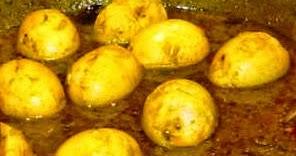 Cucinare lontano 457 curry di uova sode for Cucinare uova sode