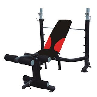 Bench Press Alat Fitness Import Praktis