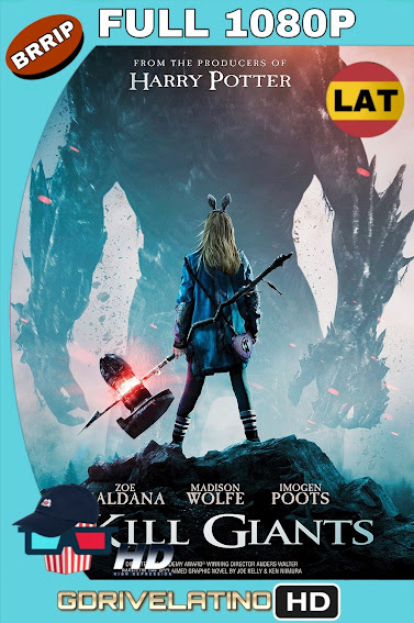 I Kill Giants (2017) BRRip 1080p Latino-Ingles mkv