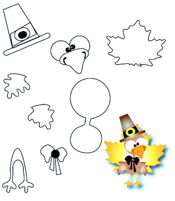 tweety thanksgiving coloring pages