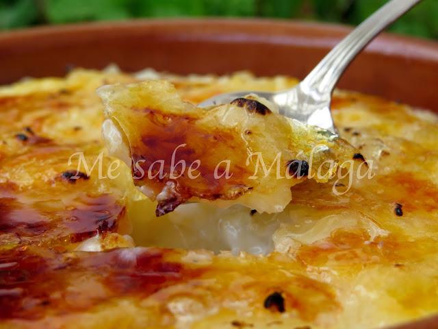 arroz leche Málaga