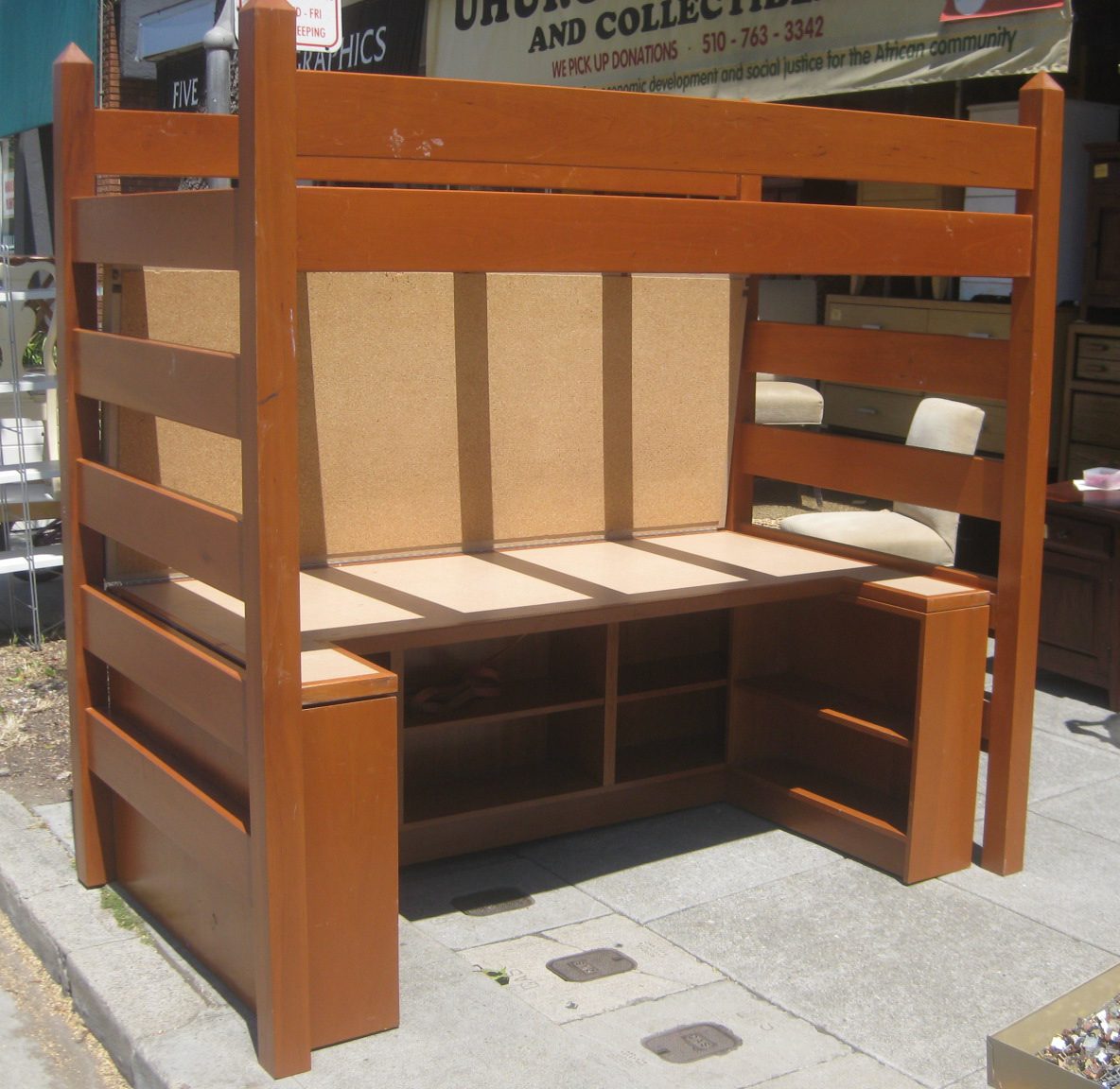 Uhuru Furniture Amp Collectibles Sold Loft Desk Bunk With